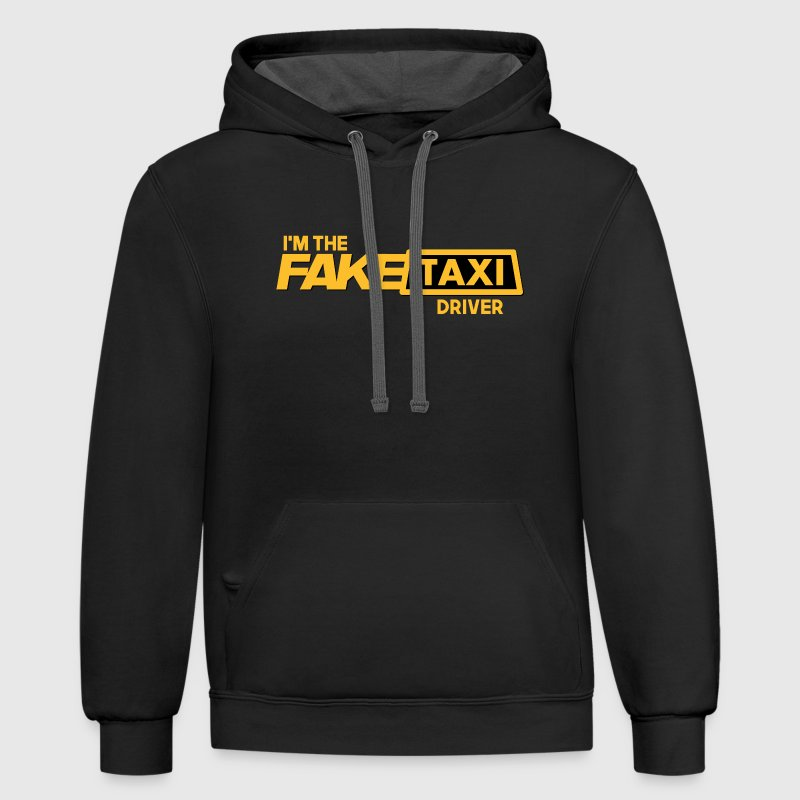 Fake Taxi - Contrast Hoodie