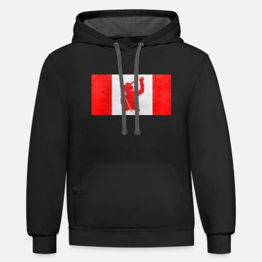 Tragically Hip gord downie - Contrast Hoodie