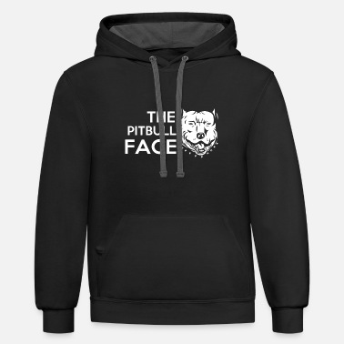 The Pitbull Face - Contrast Hoodie