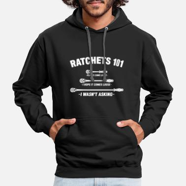 ratchtes 101 please come loose i hope it comes loo - Contrast Hoodie