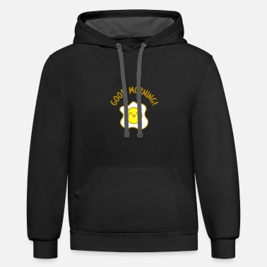 Fried Egg fried egg - Contrast Hoodie