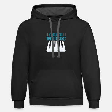 Classical Music classical music - Contrast Hoodie