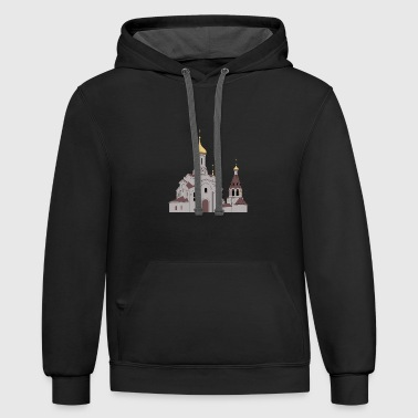 Orthodox Orthodox church - Contrast Hoodie