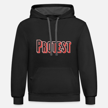 Protestant Protest - Contrast Hoodie