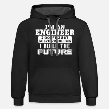 Engineering Civil Unisex Hoodie // Hooded Top Learn To Speak Engineer