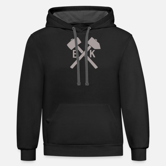 Brooklyn Hoodies & Sweatshirts - Brooklyn Hammers - Unisex Two-Tone Hoodie black/asphalt