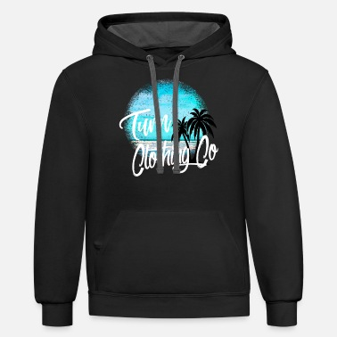 turn clothing co shirt design - Unisex Two-Tone Hoodie
