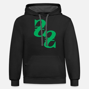 Moneygrubbing money - Unisex Two-Tone Hoodie