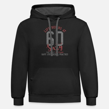 Birthday 60th birthday - Unisex Two-Tone Hoodie