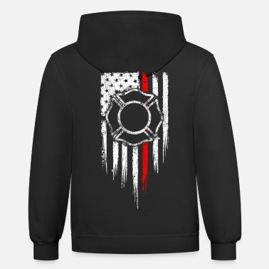 Fire Fire Dept - Unisex Two-Tone Hoodie