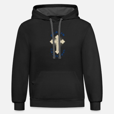 Cathedral Berlin cathedral - Unisex Two-Tone Hoodie