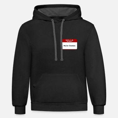 Hello My Name Is Hello My Name Is Mailer Daemon - Unisex Two-Tone Hoodie