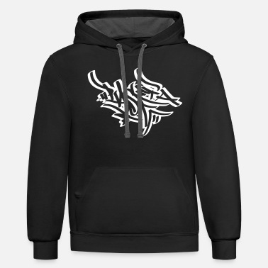 Tag Tagging - Unisex Two-Tone Hoodie