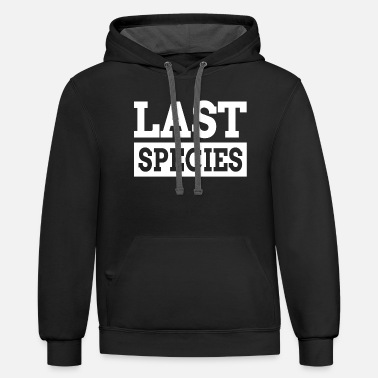 Species LAST SPECIES - Unisex Two-Tone Hoodie