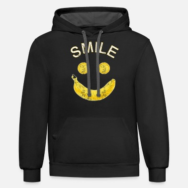 Fruit Fruit Fruity Gift Idea - Unisex Two-Tone Hoodie