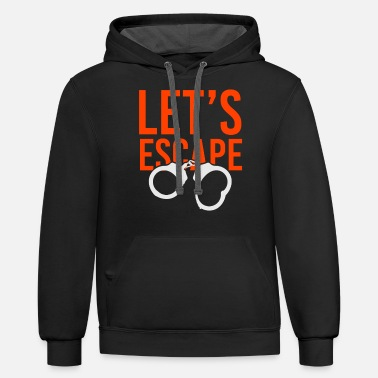 Prison Prison Prison escape Prison escape - Unisex Two-Tone Hoodie