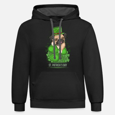 Trending IRISH YOU WERE BEER,ST.PATRICK'S DAY - Unisex Two-Tone Hoodie
