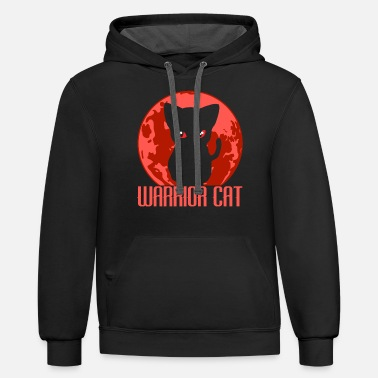 Samurai Karate Martial Arts Fencer Ninja Warrior JiuJitsu - Unisex Two-Tone Hoodie