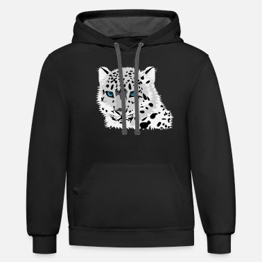Lynx Wild Lynx Big Cat - Unisex Two-Tone Hoodie