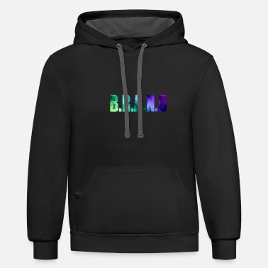 Brand BRAND - Unisex Two-Tone Hoodie