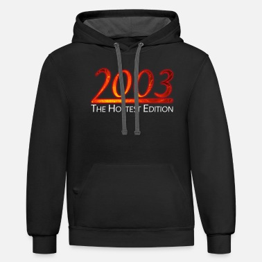 Legal 18. Geburtstag Hottest Edition - Unisex Two-Tone Hoodie