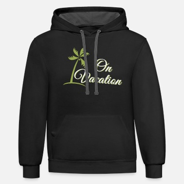 Vacation VACATION - ON VACATION - Unisex Two-Tone Hoodie