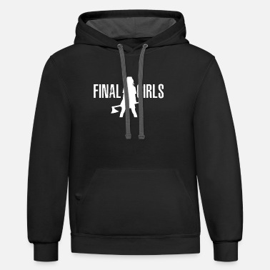 Boss Final girls as they battle monsters - Unisex Two-Tone Hoodie