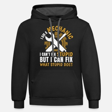 Mechanic I'm A Mechanic - Unisex Two-Tone Hoodie