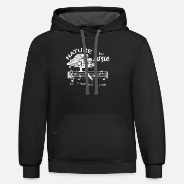 Eco Climate Change Nature Planet Earth - Unisex Two-Tone Hoodie
