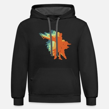 Waltz Retro Ballroom Dancing - Cool Gift For Dancers - Unisex Two-Tone Hoodie