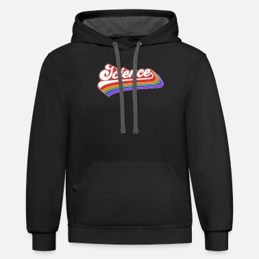 Up Science Design. Retro Style Product For Teachers - Unisex Two-Tone Hoodie