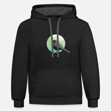 Blackbird Blackbird - Unisex Two-Tone Hoodie