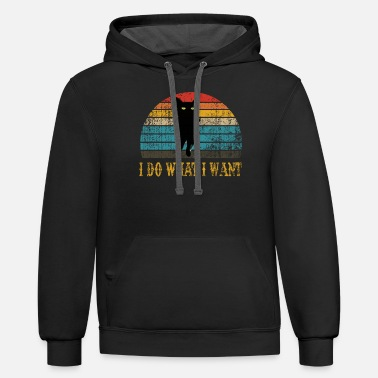 What i do what i want - Unisex Two-Tone Hoodie