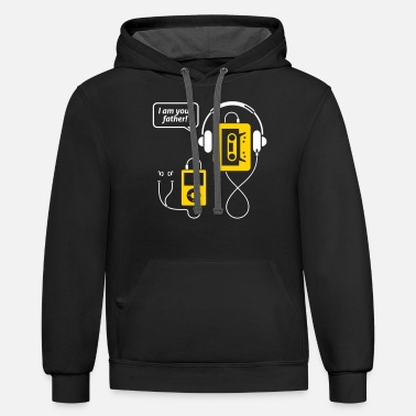 Mp3 MP3 Player,I'm Your Father! - Unisex Two-Tone Hoodie