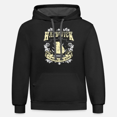 Story hardwick texas it is where my story begins texas - Unisex Two-Tone Hoodie
