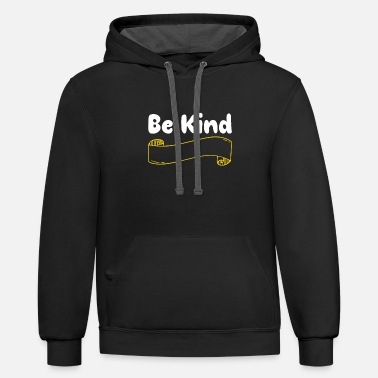 Anti Bully Be Kind Anti Bullying - Unisex Two-Tone Hoodie