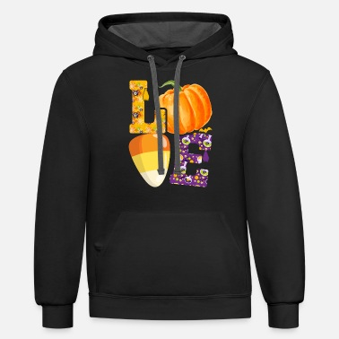 Halloween Lover T Shirt Design - Unisex Two-Tone Hoodie