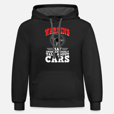 Car Dealers Funny car quote gift idea for men and father - Unisex Two-Tone Hoodie