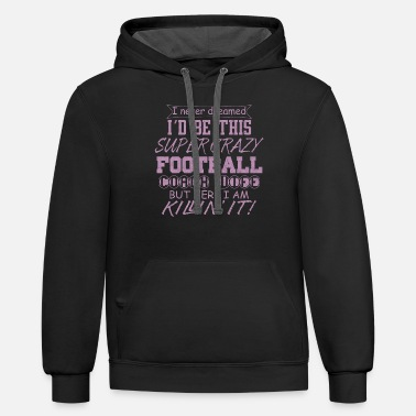 Football Coach Wife - Unisex Two-Tone Hoodie