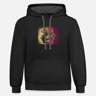Mammal Squirrel Animal - Unisex Two-Tone Hoodie