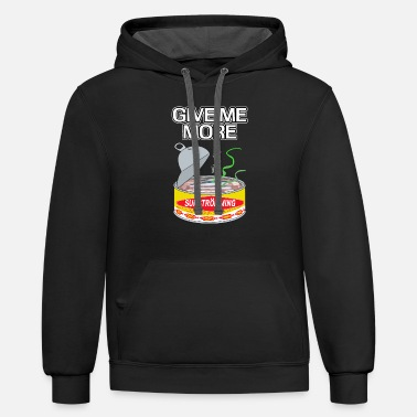 Give Me More - Surströming Sweden fish gift - Unisex Two-Tone Hoodie