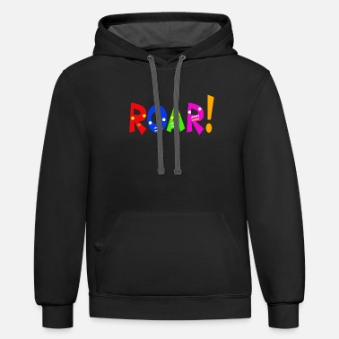 ROOARR Children Gift Idea - Unisex Two-Tone Hoodie