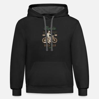 I Love Heart Algiers Black Kids Sweatshirt
