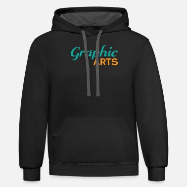 Graphic Art Graphic Arts - Unisex Two-Tone Hoodie