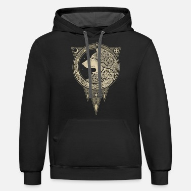 Norse NORSE ULV - Unisex Two-Tone Hoodie