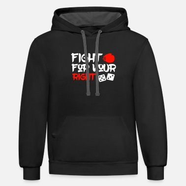 Fight for your rights - Unisex Two-Tone Hoodie