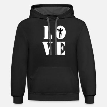 Hobby Cook LOVE TRAINING - Unisex Two-Tone Hoodie
