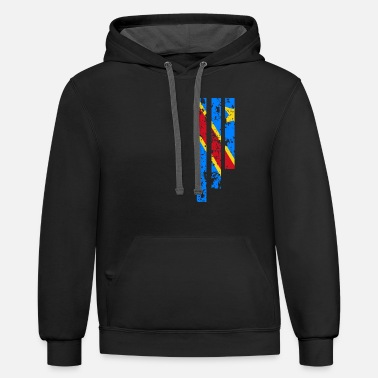 Congo Proud Of Democratic Republic Of Congo - COD - Unisex Two-Tone Hoodie