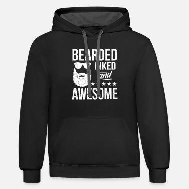 COOLBEARD Mens Sweaters Mountaineering Hoodies Print Loose