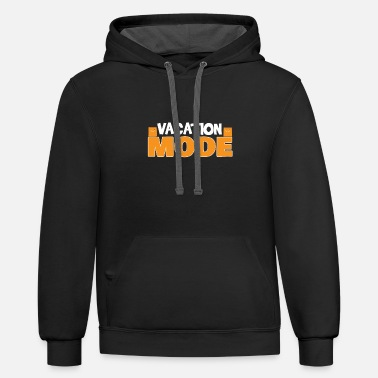 Vacation Mode - Unisex Two-Tone Hoodie